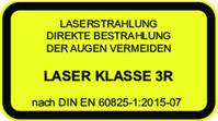 DC635-2.2-3(12x34): Modulo Laser a punto con fuoco regolabile e scocca isolata, Rosso, 635nm, 2.2mW, 3V DC, 12x34mm, Classe Laser 3R